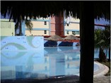 Pool of hotel Sunbeach