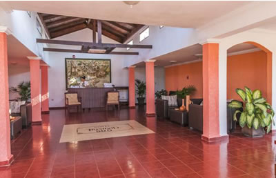 Lobby of hotel Trinidad 500