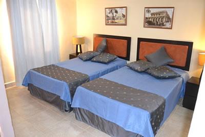 Habitación estandar del hotel Trinidad 500