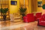 Lobby of hotel Tulipán