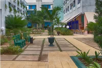 Vista del hotel Tulipán