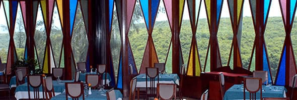 Restaurante del Hotel Versalles ,Santiago de Cuba