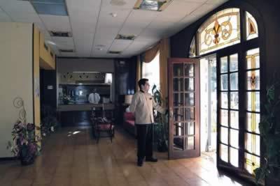Lobby del Hotel Victoria