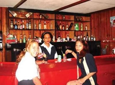 Bar  del Hotel Villa Gaviota Santiago de Cuba