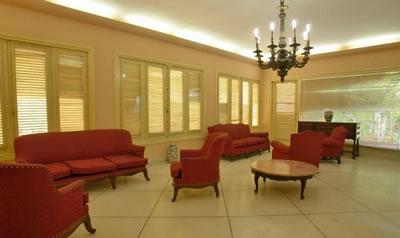 Lobby del Hotel Villa Gaviota Santiagode Cuba