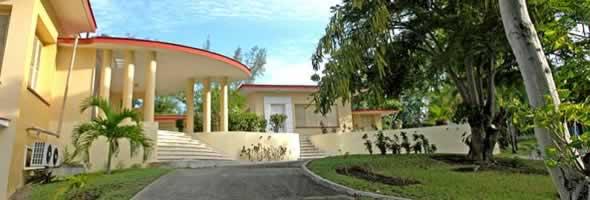 Fachada de Hotel Villa Gaviota Santiago de Cuba