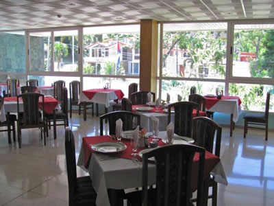 Restaurante  Hotel Villa Gaviota Santiago de Cuba
