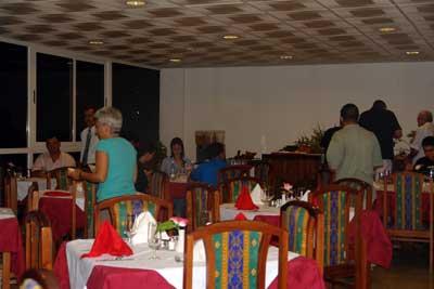 Hotel Villa Gaviota Santiago Restaurante