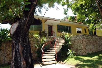 Vista del Hotel Villa Gaviota Santiagode Cuba