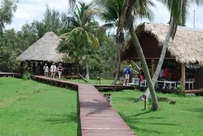 Vistas del Hotel Villa Guamá, Península de Zapata