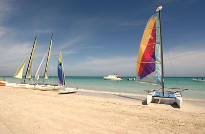 Beach View of Hotel Los Cactus, Varadero, Cuba