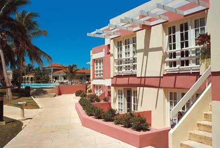 Vista del Hotel Los Cactus, Varadero, Cuba