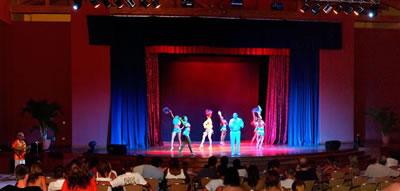 Cabaret del Hotel sol Rio De Luna Y Mares Resort