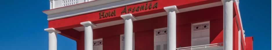 Hotel Encanto Arsenita facade, Holguín, Cuba