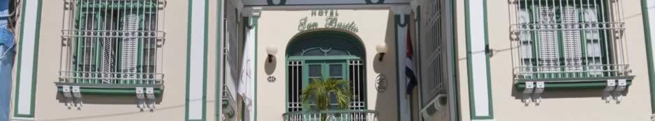 Fachada  Hotel Encanto San Basilio, Stgo de Cuba