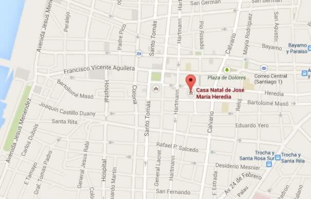 Casa Museo Jose Maria Heredia, Santiago de Cuba
