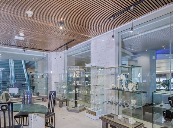 Jewelry store in the hotel