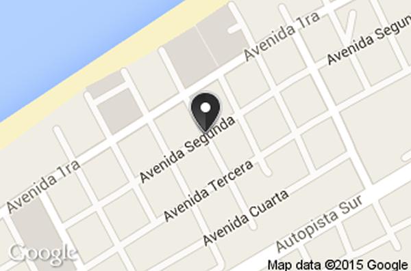 Restaurant La vaca rosa, Varadero, Cuba,map