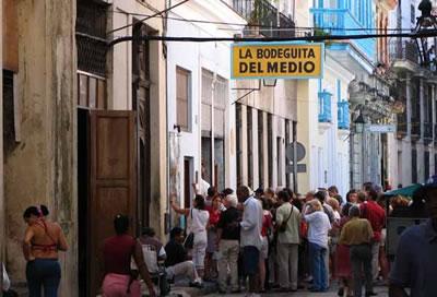 La Bodeguita del Medio, Havana, Cuba.
