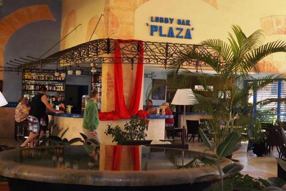 hotel lobby bar view