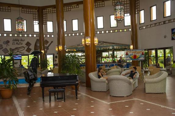 Lobby of the Roc Arenas Doradas hotel