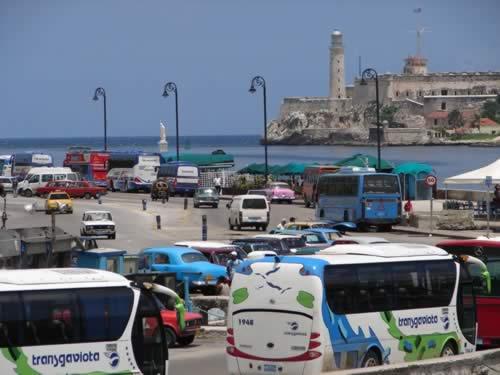 Vista del Malecón , La Habana, Cuba