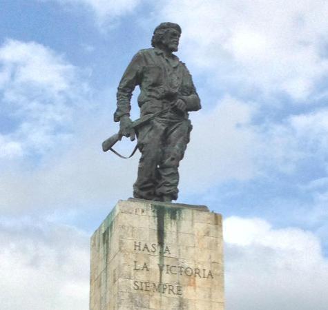 Memorial al che guevara, villa clara, cuba