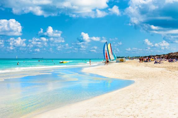 Varadero beach view