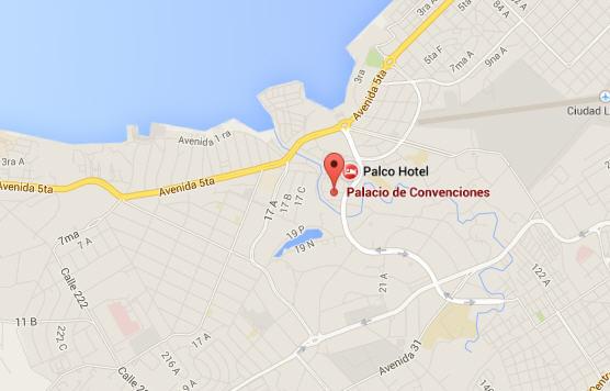 Palacio de las convenciones, La Habana, Cuba