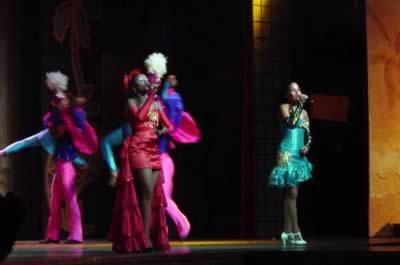 Show del cabaret del Hotel Paradisus Varadero