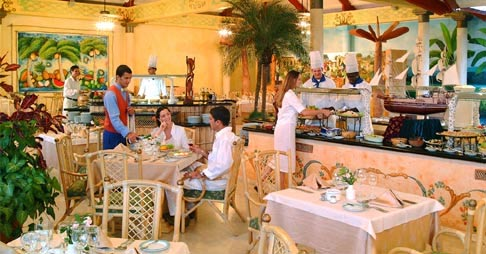 Buffet at Hotel Paradisus Varadero