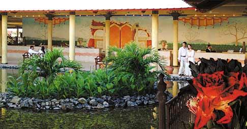 Lobby del Hotel Paradisus Varadero, Cuba