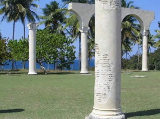 Cristobal Colon and Bariay Park, Holguin, Cuba