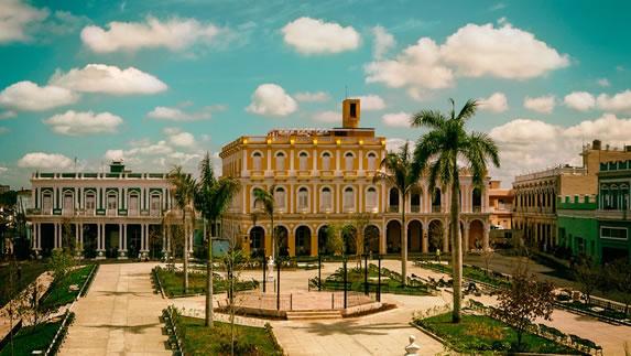 Park in the city of Sancti Spiritus