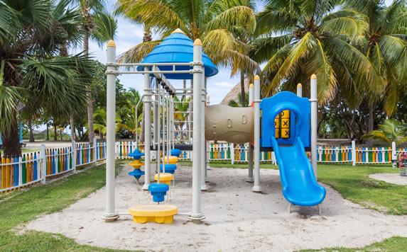 Children's park at the Arenas Doradas hotel
