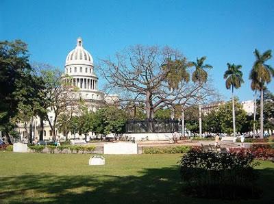 Parque de La Fraternidad, Havana, Cuba