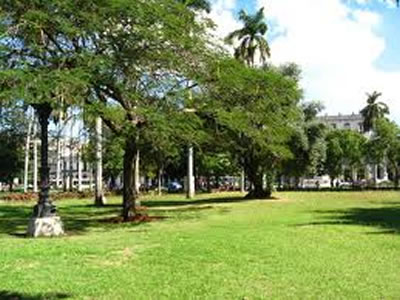 Parque de La Fraternidad, La Habana, Cuba