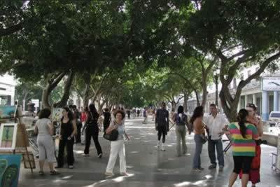 Paseo del Prado, La Habana, Cuba
