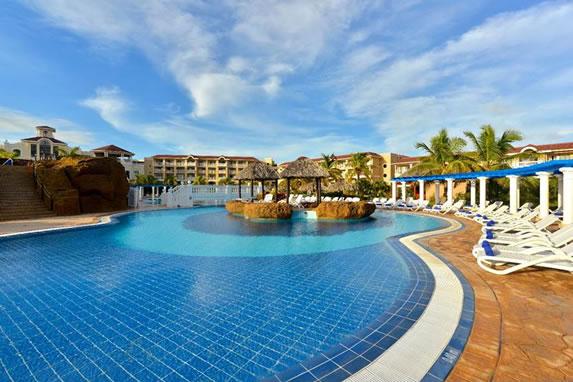 swimming pool at the Iberostar Laguna Azul hotel