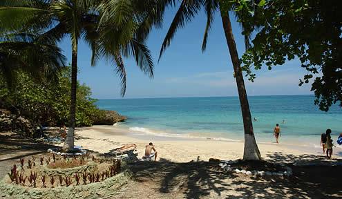 Maguana beach, Baracoa, Cuba