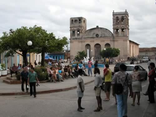 Independencia square, Baracoa, Cuba
