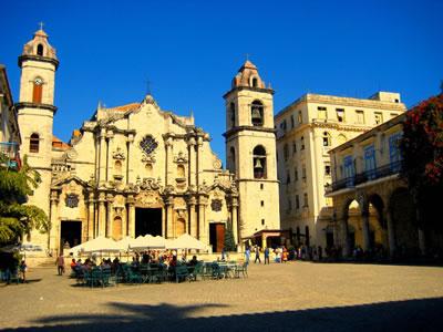 Plaza de la Catedral - La Habana, Cuba.