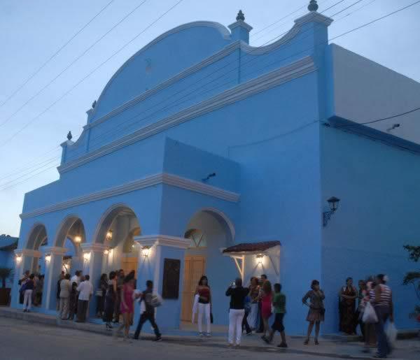 Principal theater, Santi Spiritus, Cuba