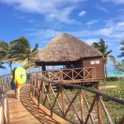 Hotel Pullman Cayo Coco Way to the beach