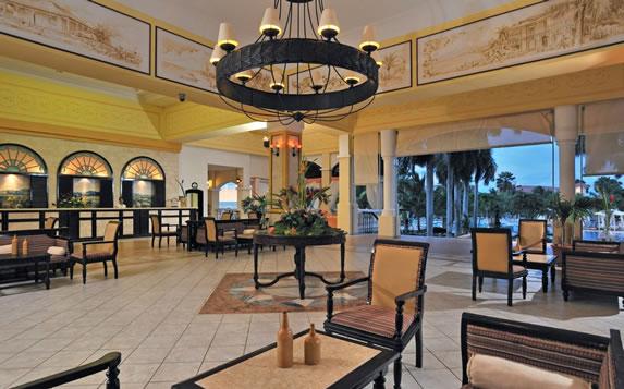 Hotel lobby and reception