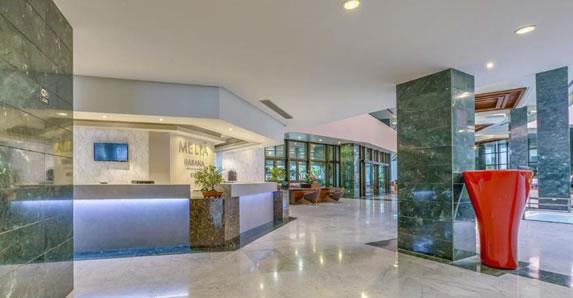 Melia Habana hotel reception