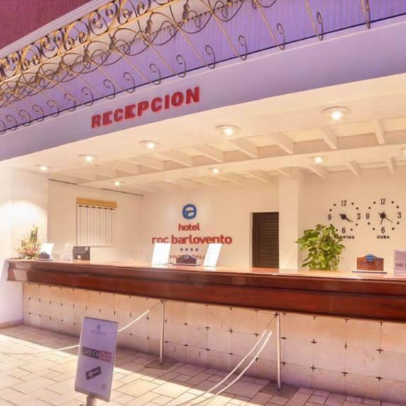 Roc Barlovento hotel reception