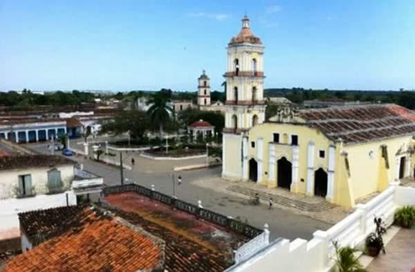 Remedios city, Villa Clara, Cuba