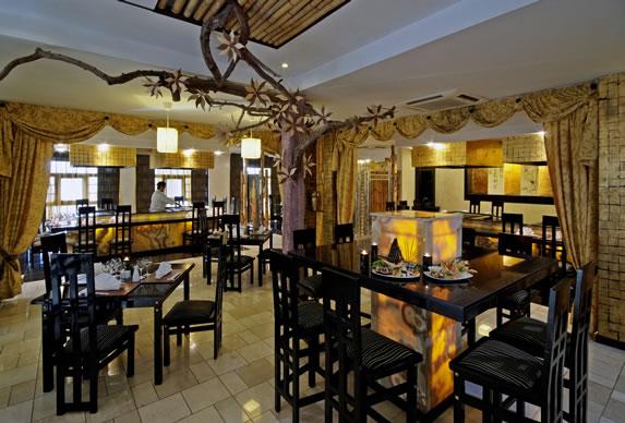 Japanese restaurant in the hotel