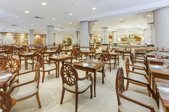 Hotel buffet restaurant